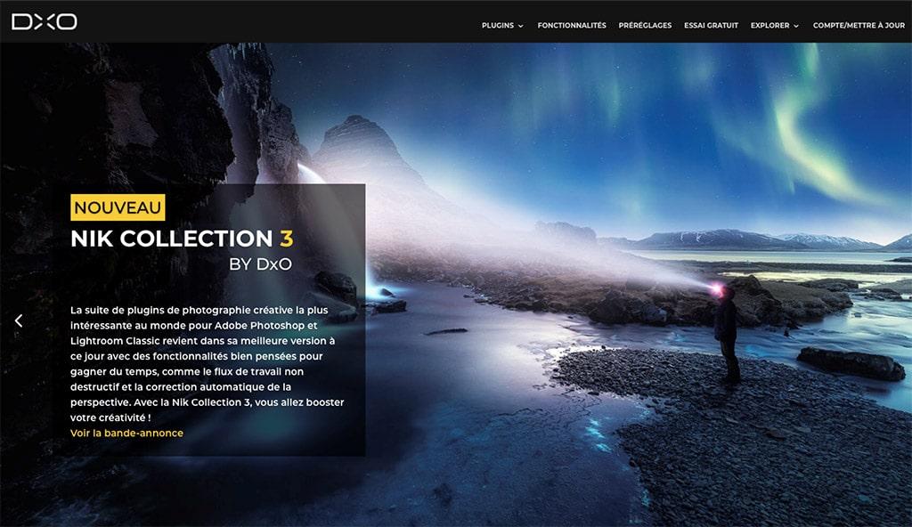 Mise à jour plugins DxO Nik Collection