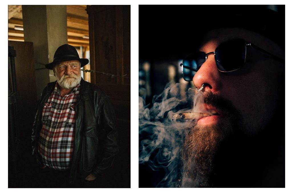 Portraits © Laurent Le Crabe (à droite) & Théo Giocometti (à gauche)