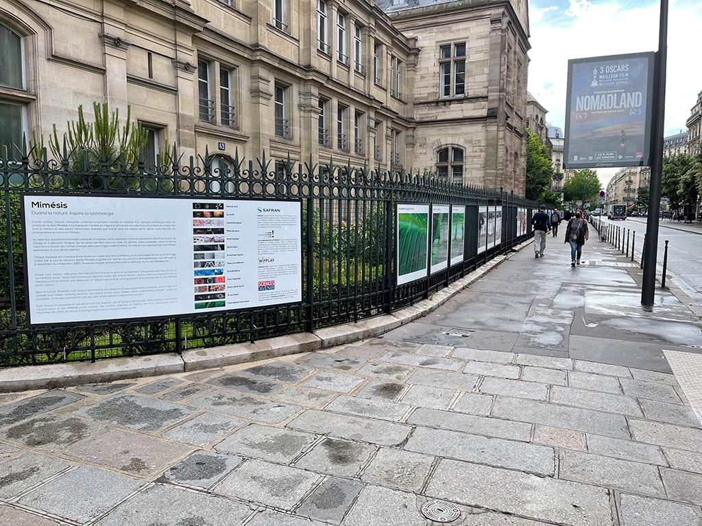 Read more about the article Sur les grilles du musée des arts et métiers