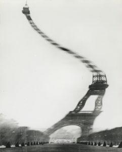 Tour Eiffet © Robert Doisneau