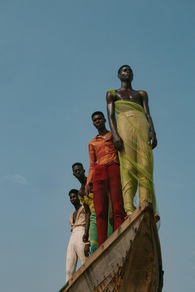 Instant de jeunesse, Lagos, Nigeria.©Daniel-Obasitif