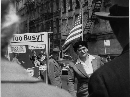 ©Sabine Weiss, New York, 1955