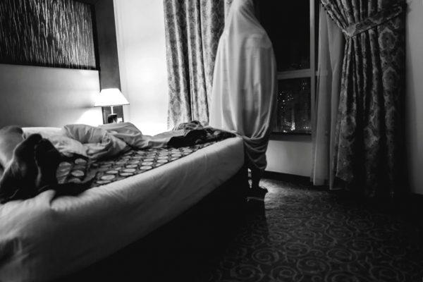 Standing Like a Ghost Watching My Dreams Going Away.©Eythar Gubara